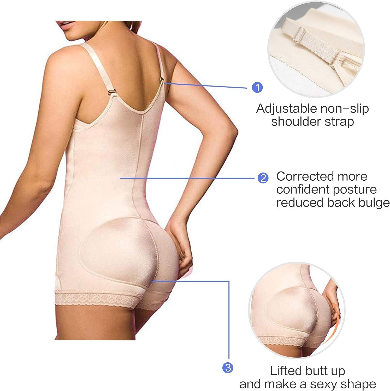 SHAPERX Femme Bustiers Ajustable Minceur Efficace Lingerie Sculptante Amincissant Shapewear