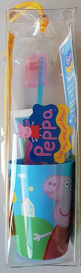 Titolo: Mr White - Travel Kit/Pochette Peppa Pig : juego de higiene dental