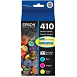 EPSON T410 Claria Premium Ink Standard Capacity Photo Black & Color Combo Pack (T410520-S) for select Epson Expression Premiu