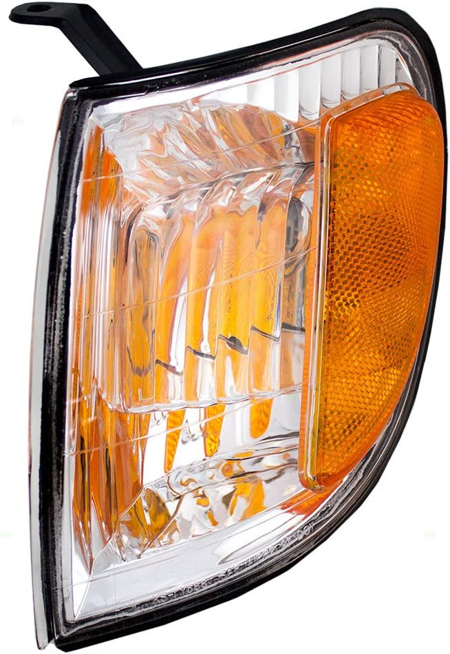 Drivers Park Signal Corner Marker Light Lamp Lens Replacement for Toyota Pickup Truck 81520-0C040 AutoAndArt