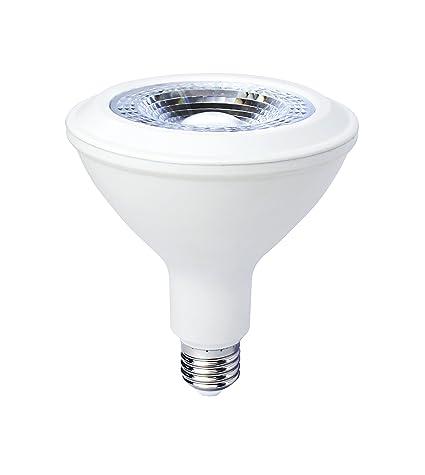 LightED PAR38 Bombilla LED 50K E27, 16 W, Blanco 124 x 129 mm