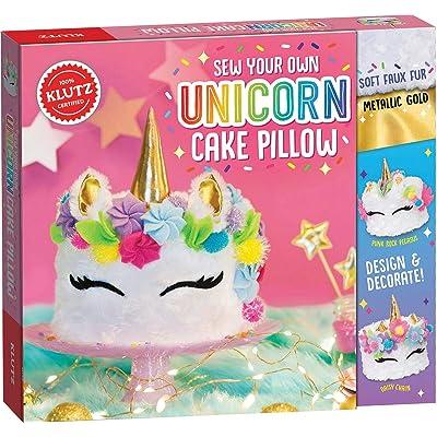 Klutz Sew Your Own Unicorn Cake Pillow: Toys & Games