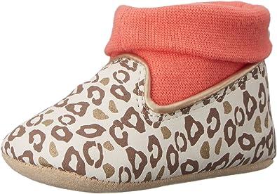 Prewalker Playful Leopard Rosie Pope Kids Footwear Prewalker Playful Leopard Crib Shoe Infant K