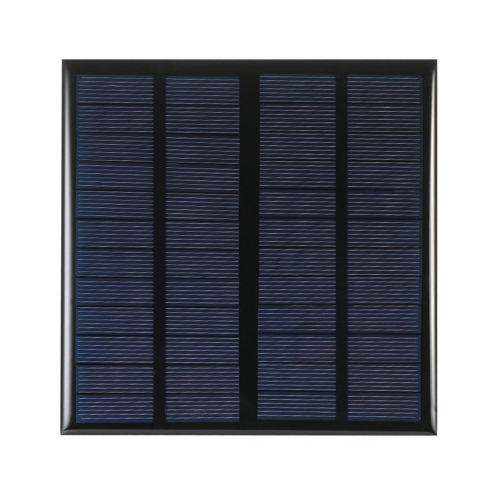Decdeal 2W / 3W / 4.2W / 5.2W 12V Policristallino Silicio Solare Pannello Solare Cella per DIY Caricatore di Potenza H19082-1-ILHCWX