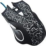 Mouse Gamer Multilaser 3200DPI 6 Botões com LED - MO250