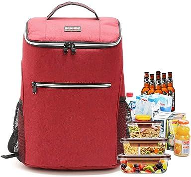 Isoliert Kühltasche Rucksack Thermo Camping Mittagessen Reise Picknick BBQ
