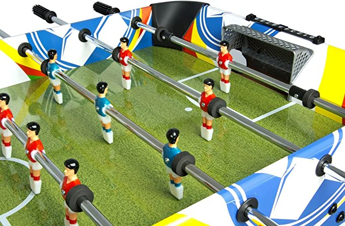 Leomark Deluxe Fun Football Futbolín para Niños Futbolín Madeira ...