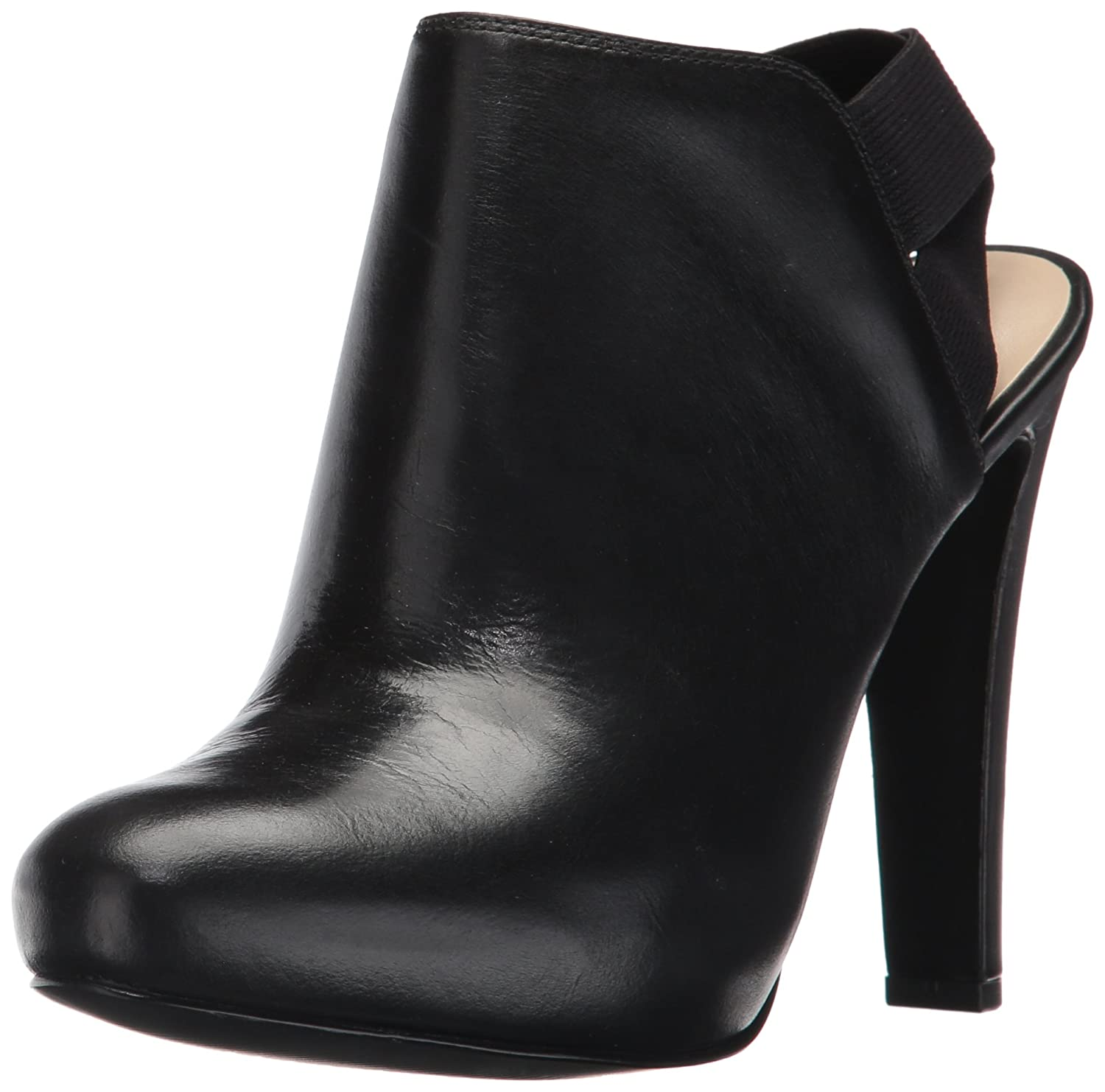 Nine West Women's Burke Ankle Boot B01MYU5ITH 9.5 B(M) US|Black Leather
