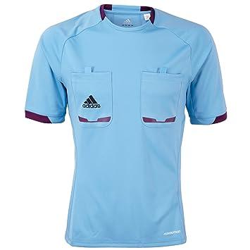 Adidas Performance Mens Climacool Formotion árbitro de Manga Corta Camiseta - Azul - XXXL: Amazon.es: Deportes y aire libre