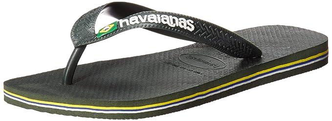 b20f2e78a757b Havaianas Women s Brazil Logo Flip Flop Sandal  Havaianas  Amazon.ca ...