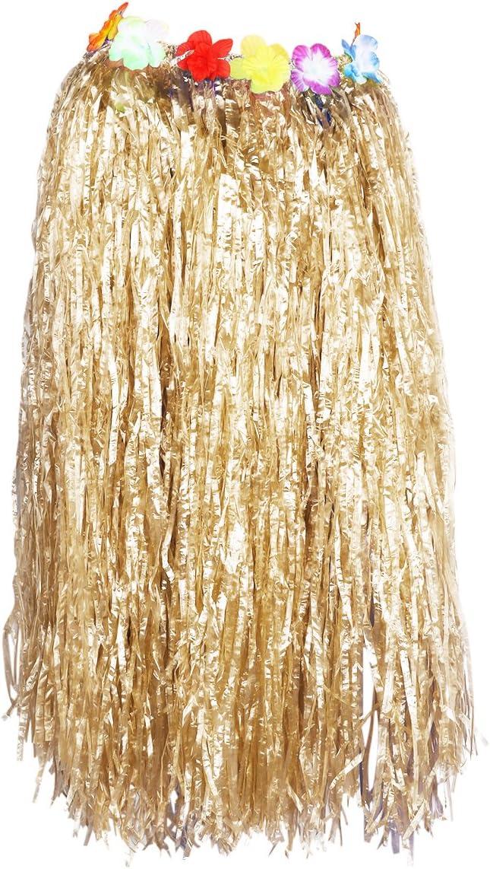 Tinksky Falda de la danza de la hierba hawaiana para la decoración ...