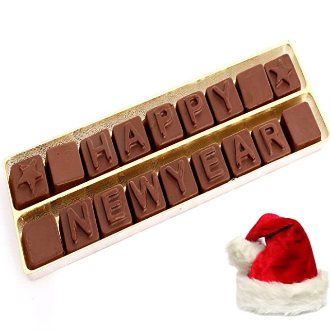 ghasitaram gifts christmas gifts chocolates happy new year alphabets
