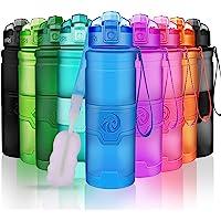 ZORRI Botella de Agua Deportiva-400ml/500ml/700ml/1000ml-sin BPA & a Prueba de Fugas, Reutilizable de plastico tritan…