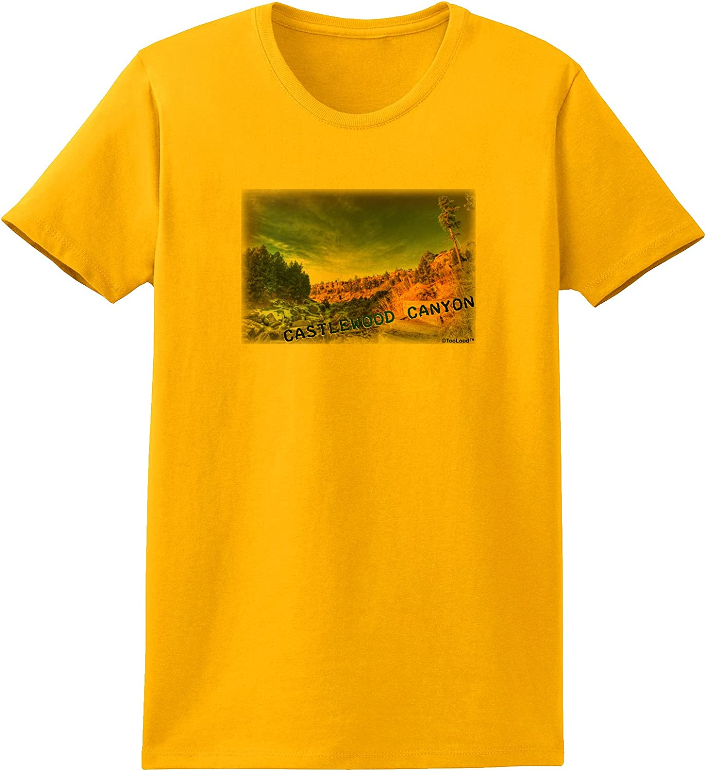 TooLoud Castlewood Canyon Old Photo Toddler T-Shirt
