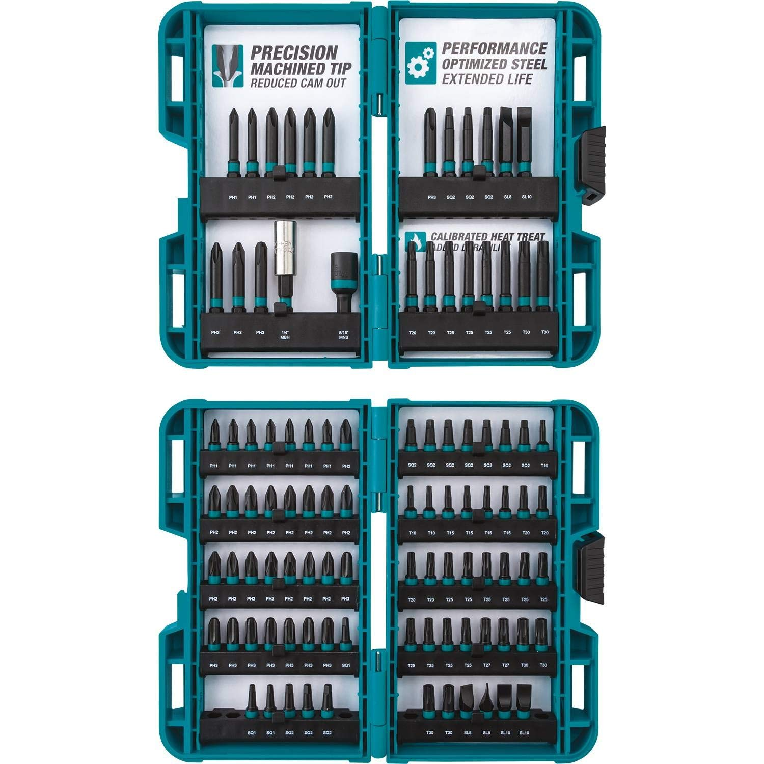 Makita E-00038 Impactx 100 Pc. Driver Bit Set by Makita