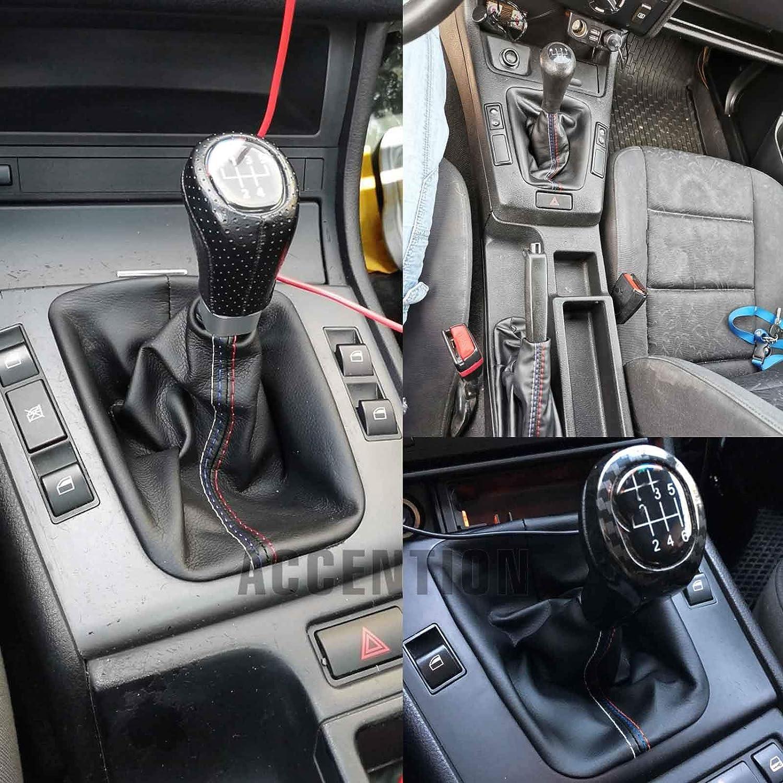 For BMW 3 Series E36 E46 M3 New Car Gear Shift Knob Handbrake Gaiter Boot