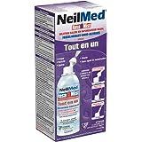 NeilMed Nasamist All-in-One Sterile Saline Nasal Spray, 6 Ounce