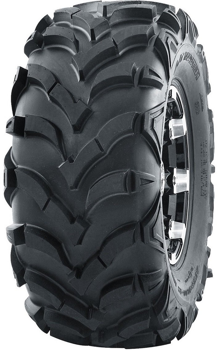 Set of 4 WANDA ATV//UTV Tires 25X8-12 25X10-12 P341 Solid Deep Tread for 2008-2014 POLARIS RZR 570//800