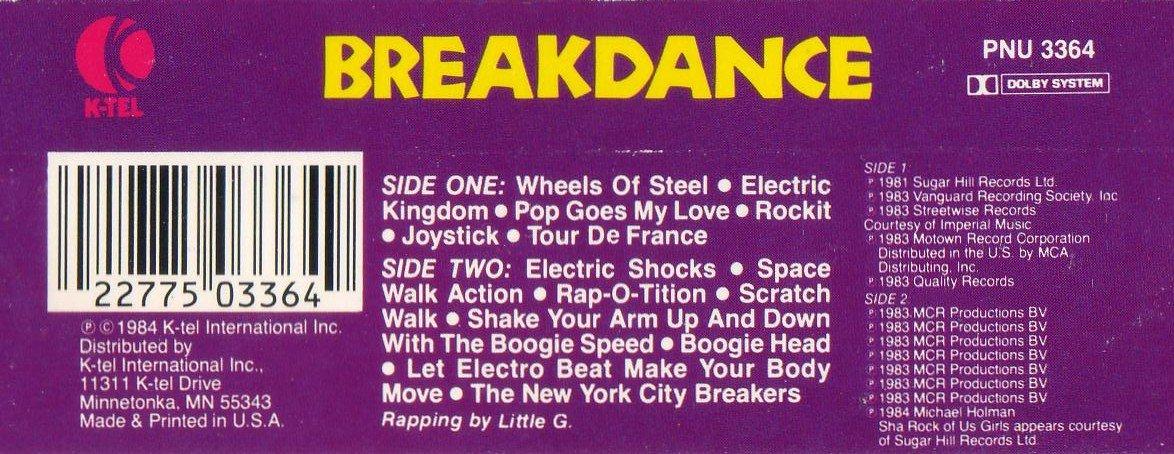 Breakdance Ktel 1984