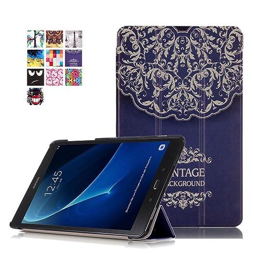 91 opinioni per Custodia Galaxxy Tab A T580/T585 Pelle,Flip Cover Samsung Tab A 2016