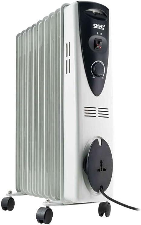 Evila GS2858 Radiador de aceite 9 elementos 2000W: Amazon.es ...