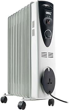 Evila GS2858 Radiador de aceite 9 elementos 2000W: Amazon.es: Bricolaje y herramientas