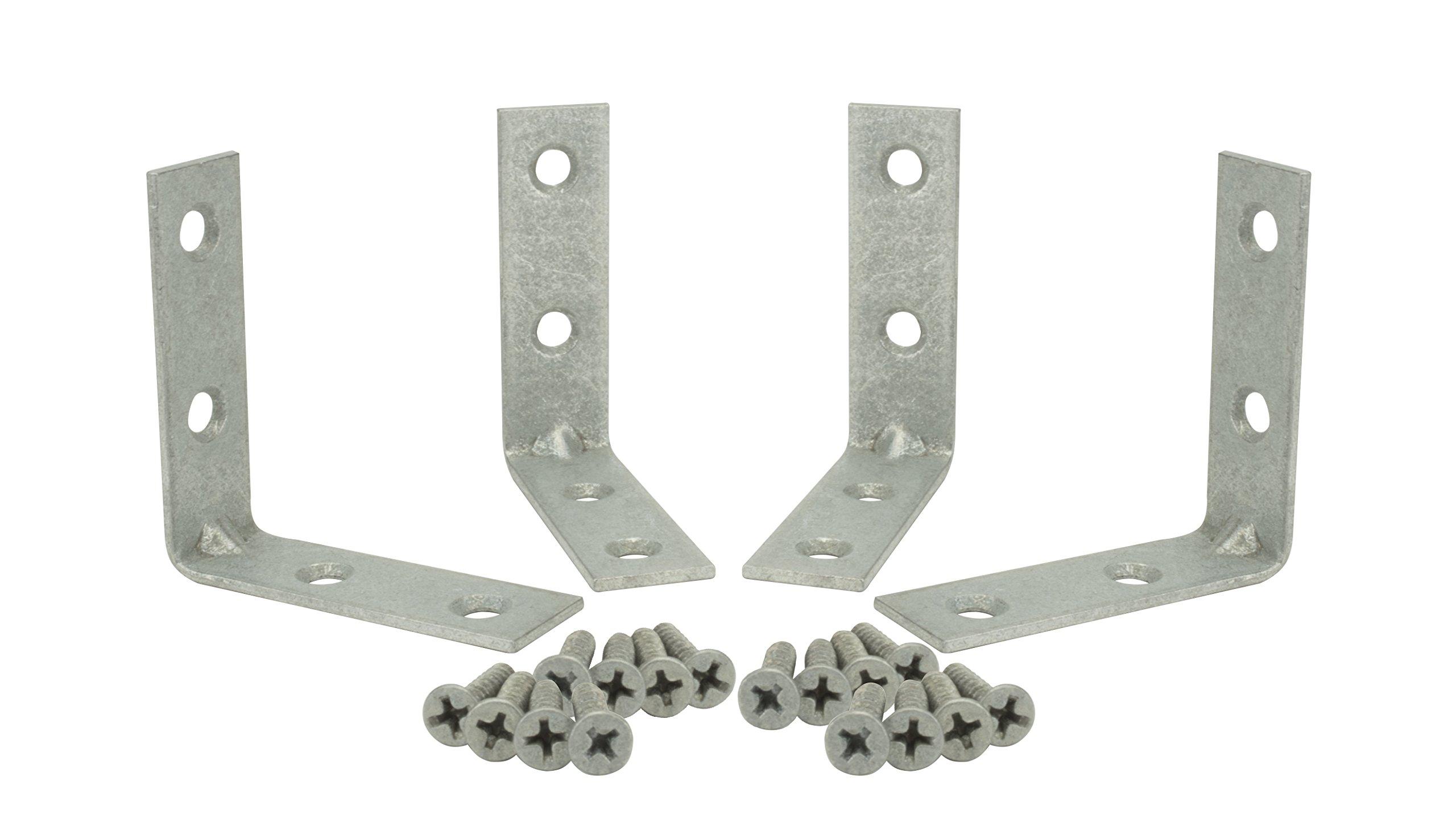 Specialty Hardware Corner Brace 2 inch Galvanized 120pcs