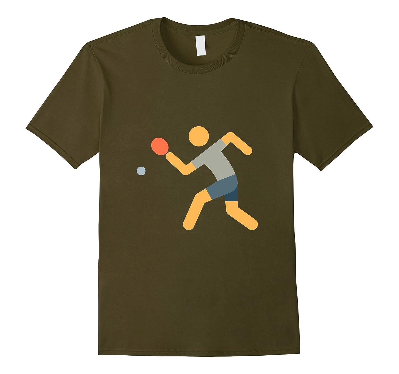 Table Tennis Ping Pong T-Shirt-CL