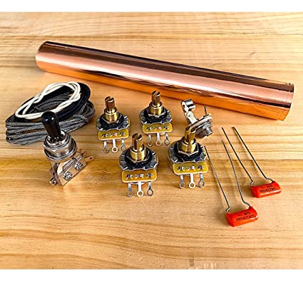 amazon com premium wiring kit for les paul guitar musical instruments