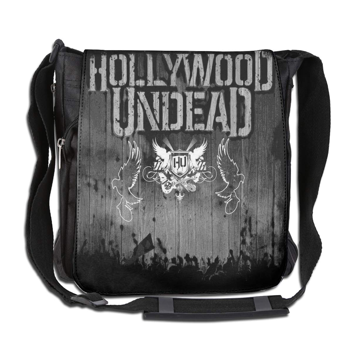 Hollywood Undead Classic Retro Messenger Bag Large Capacity Backpack Multifunction