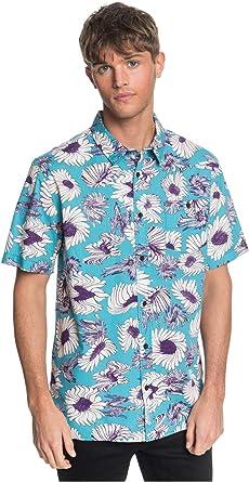 Quiksilver - Camisa de manga corta para hombre: Amazon.es: Ropa y accesorios