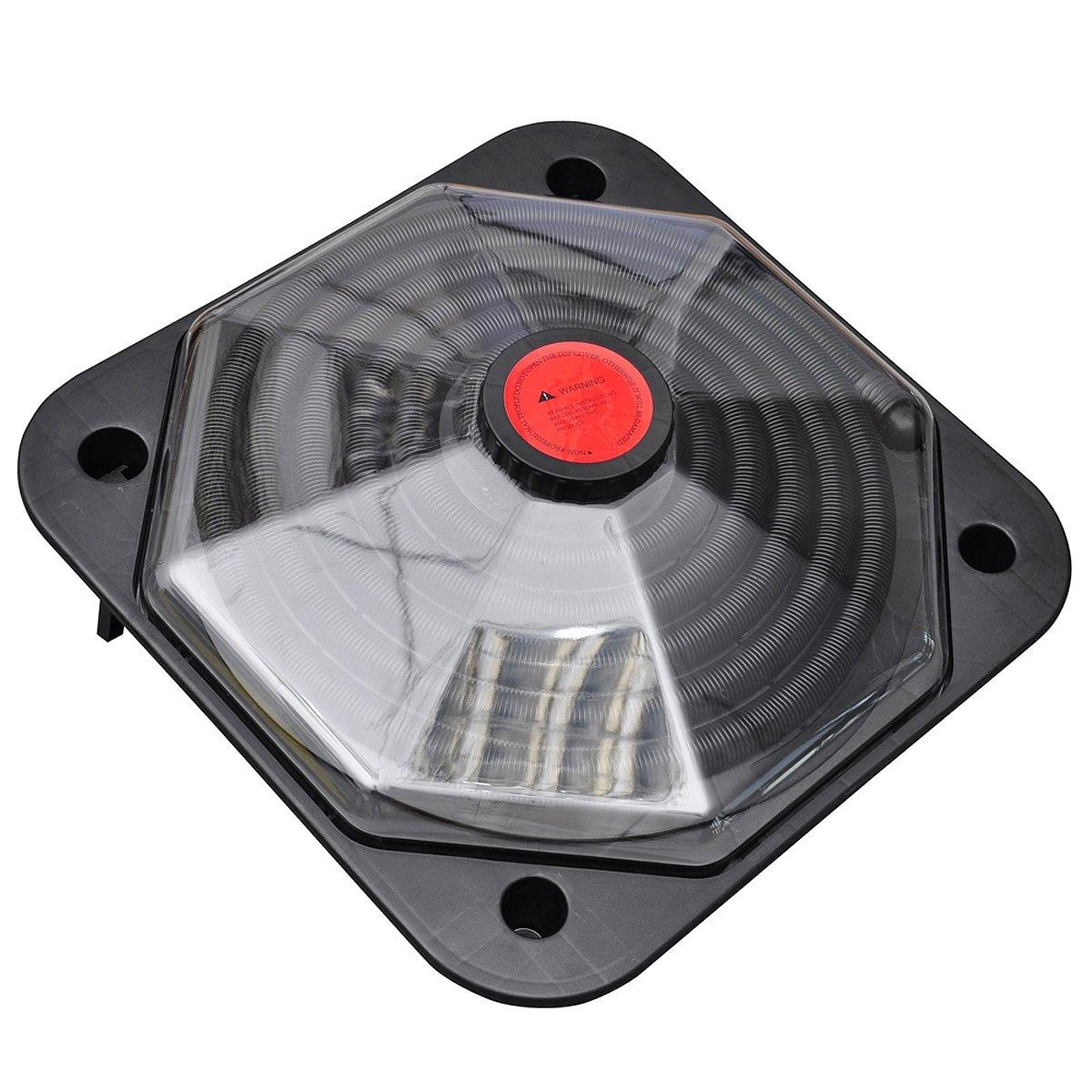 vidaXL Solar Poolheizung 735W Solarheizung Solarkollektor Heizung Schwimmbad 12446