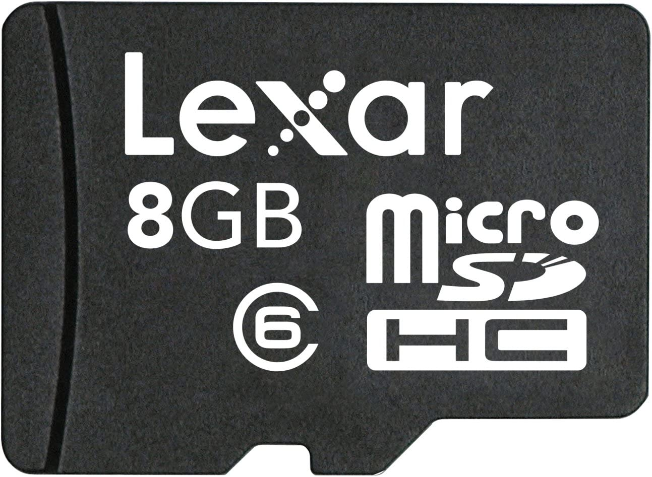 microSDHC 8GB w//no Adapter CL6 Electronic Computer