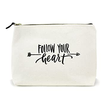 ad1813e9fb2c Image Unavailable. Image not available for. Color  Canvas Makeup Bag ...