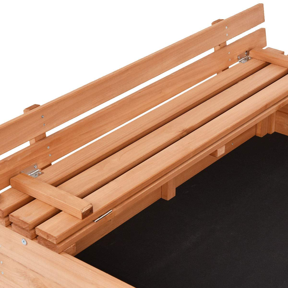 USA_BEST_SELLER Children Outdoor Foldable Retractable Sandbox Bench Seat Box by USA_BEST_SELLER (Image #5)