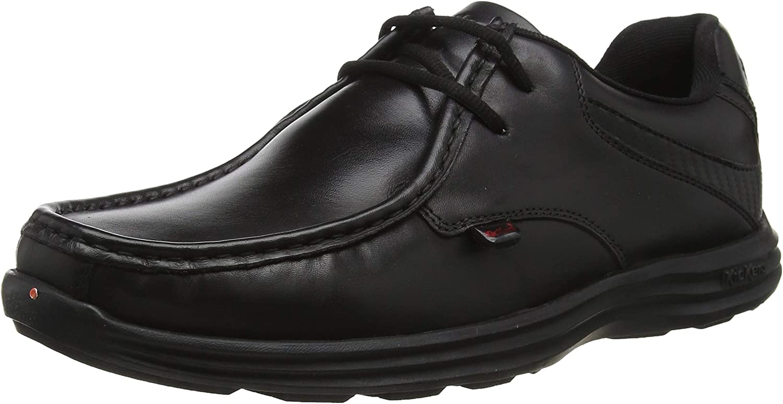 Kickers Reasan Lace Lthr Am, Zapatos de Cordones para Hombre