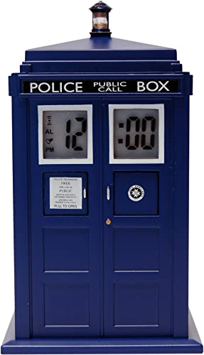 Doctor Who TARDIS Projection Alarm Clock DR190