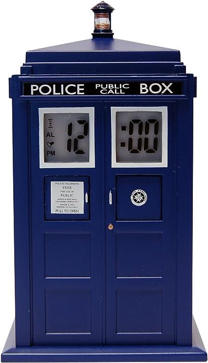 Doctor Who Zeon - Despertador proyector, diseño de Tardis