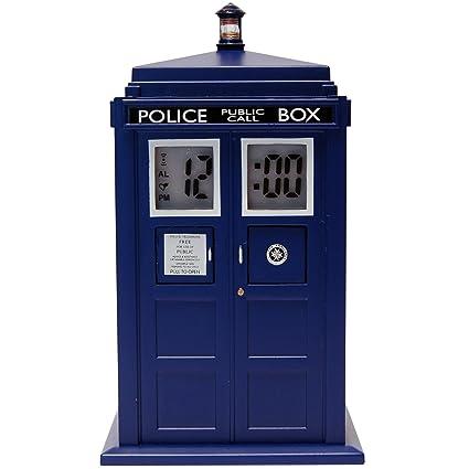 amazon com doctor who tardis projection alarm clock dr190 home