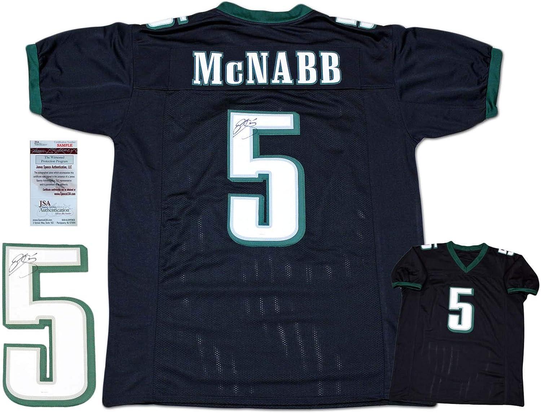 Donovan McNabb Autographed Signed Jersey - Black - JSA Authentic ...