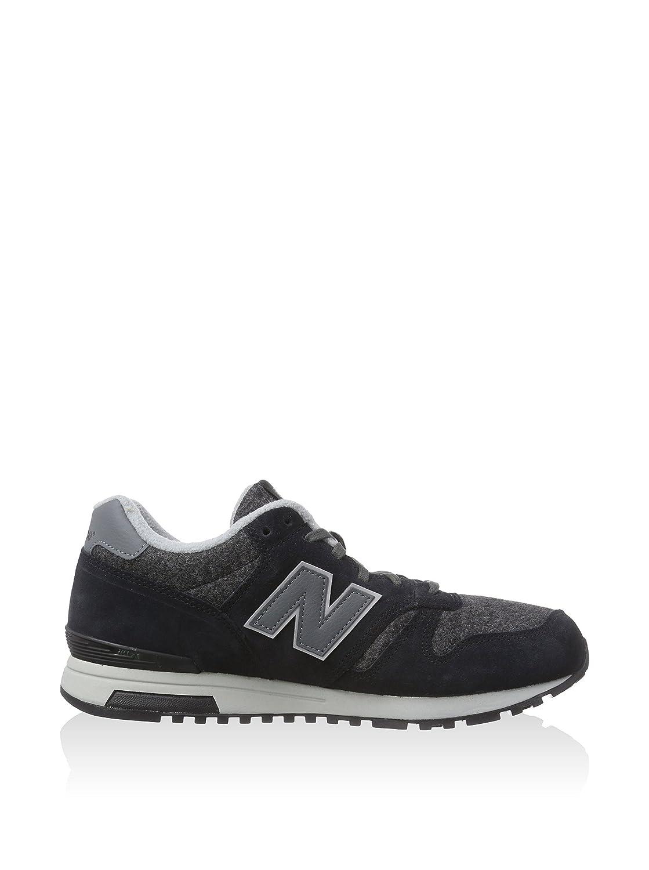 NEW Balance ml565pa Black/Grey Scarpe/Sneaker Nero/Grigio