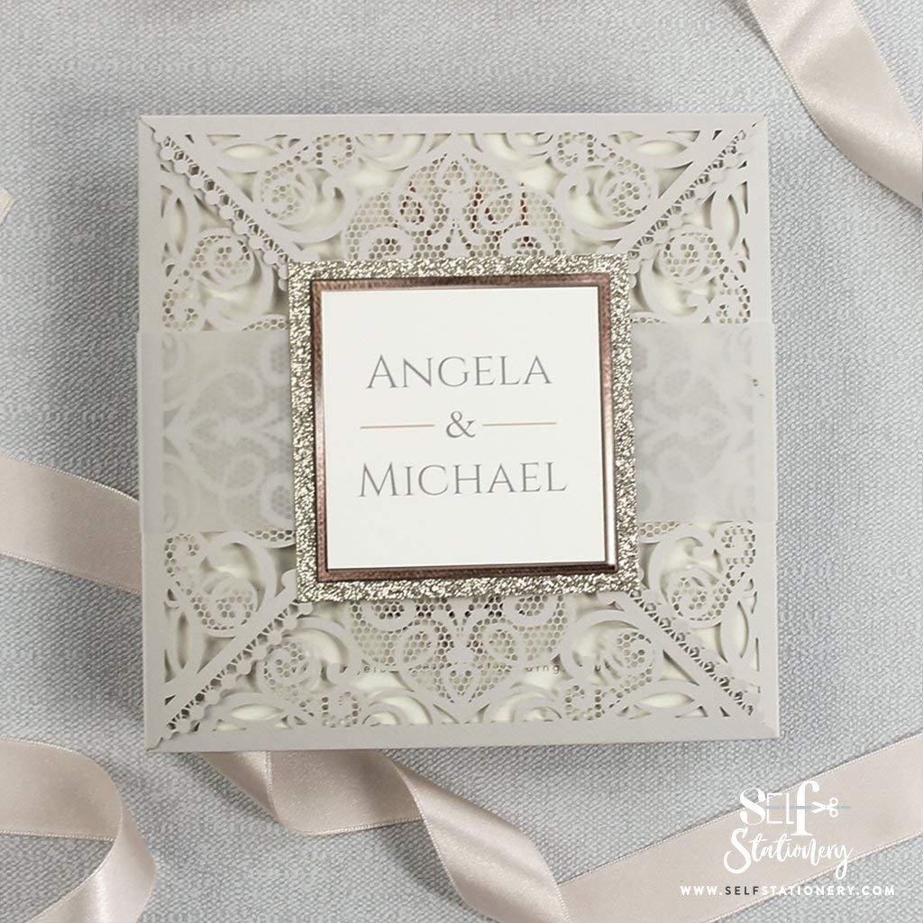 Amazon Com Wedding Anniversary Cards Wife Husband Laser Cut