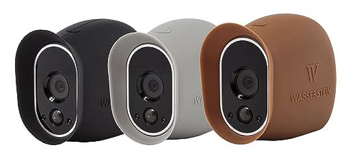 5 opinioni per 3 x Cover in silicone per Sistema di sicurezza Arlo Pro Smart – 100% Videocamere