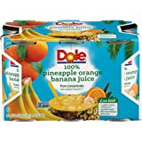 DOLE PINEAPPLE ORANGE BANANA JUICE 6-6 Ounce Cans (Pack of 48)