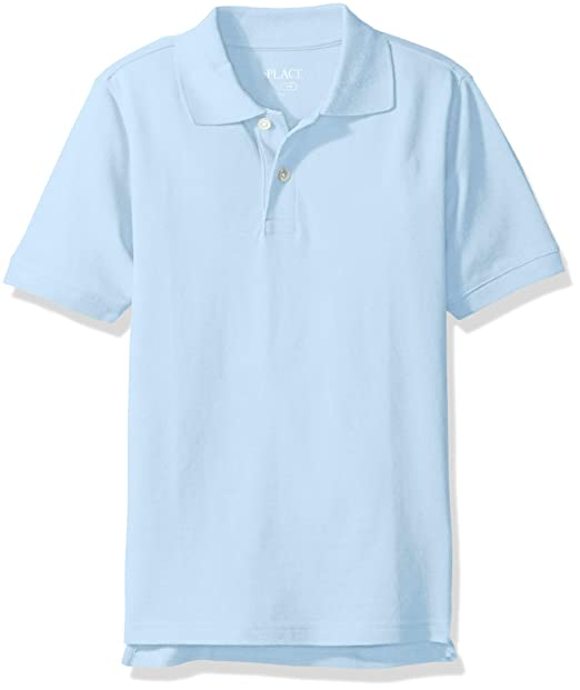 The Childrens Place Boys Baby Short Sleeve Uniform Polo