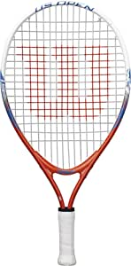 "Wilson Junior US Open Tennis Racquet, 19"" L"