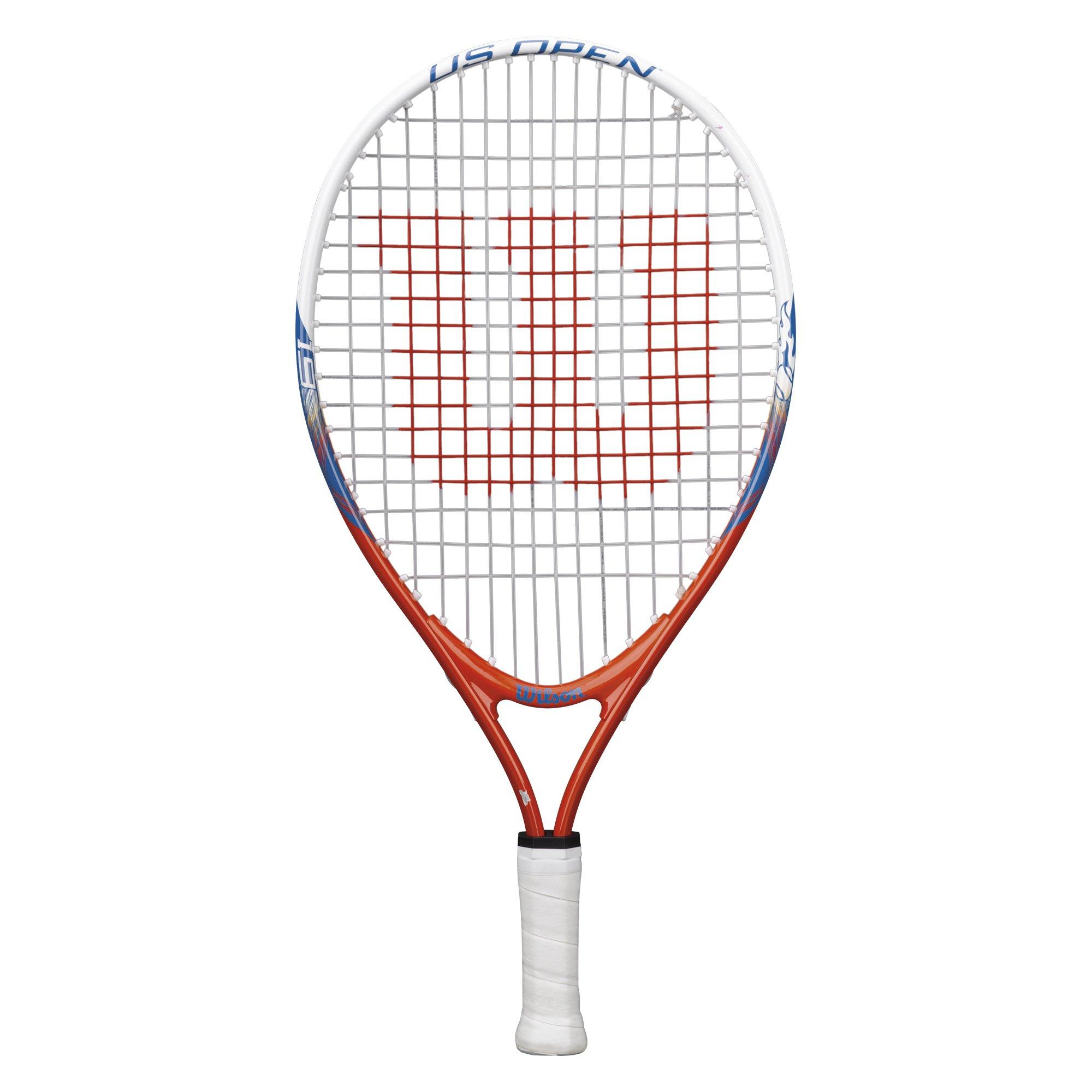Wilson 55064 Junior US Open Tennis Racquet, 19'' L by Wilson (Image #1)