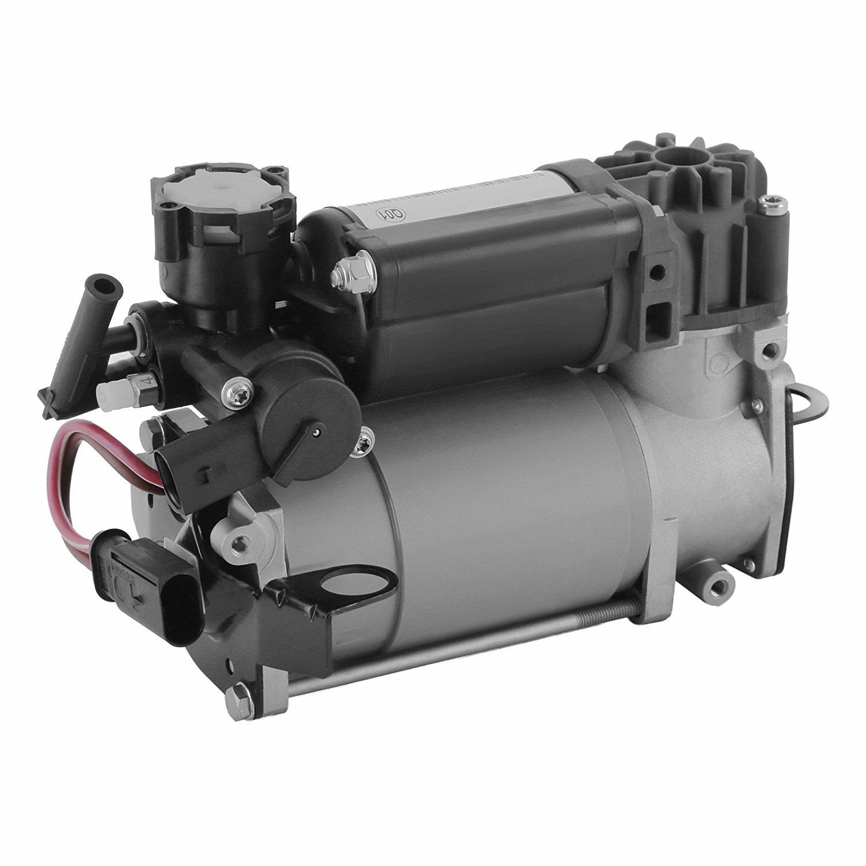 BuoQua Luftkompressor Auto Druckluftkompressor Tragbar Aluminium Legierung Air Suspension Compressor