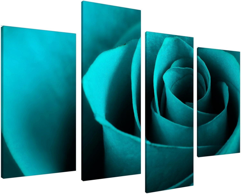 Wallfillers Canvas 4109 - Impresión sobre Lienzo, Color Azul