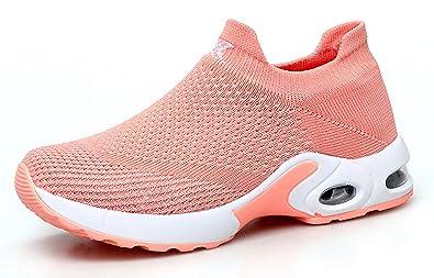 839be2b06bb35 TSIODFO Women air Cushion Slip on Tennis Shoes